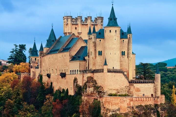 Top 5 Castles of Spain.