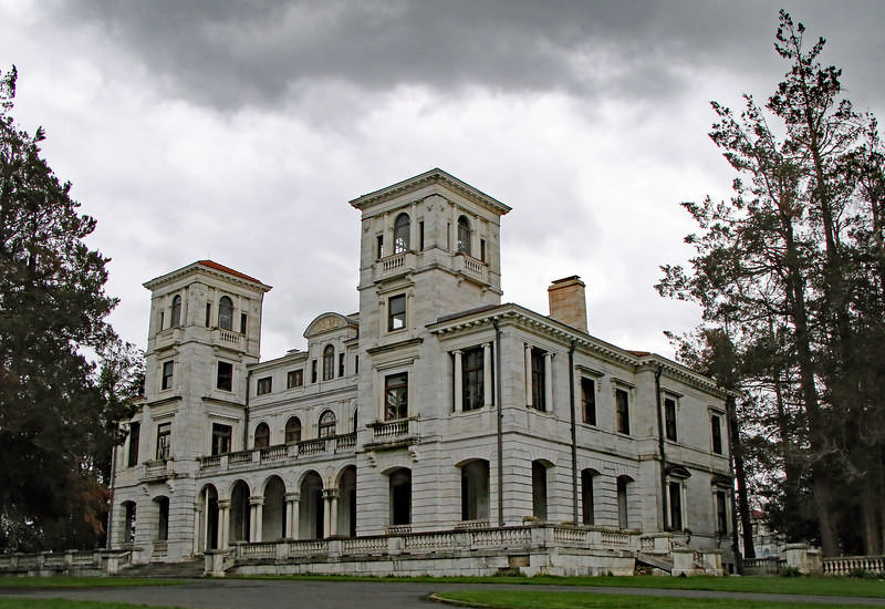 The Romantic Swannanoa Mansion.