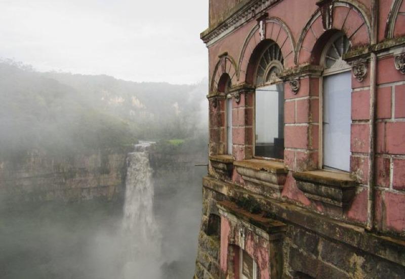 The haunted Colombia's Hotel del Salto
